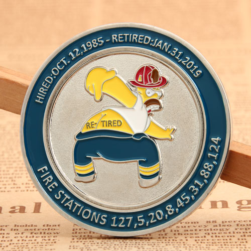 Lacofd Firefighter Coins