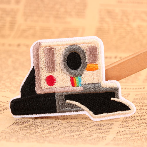 Camera Custom Made Patches