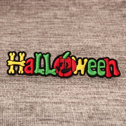 Halloween Embroidered Patches
