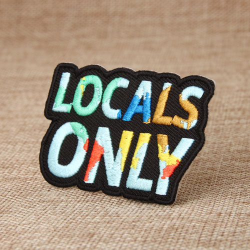 Locals Only Custom Made Patches