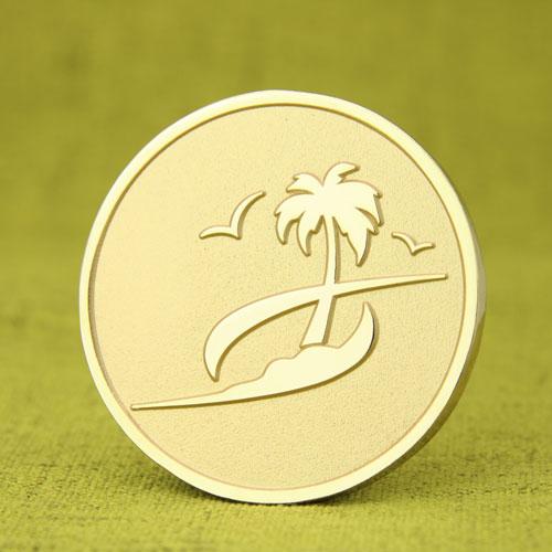 Palm Custom Challenge Coins