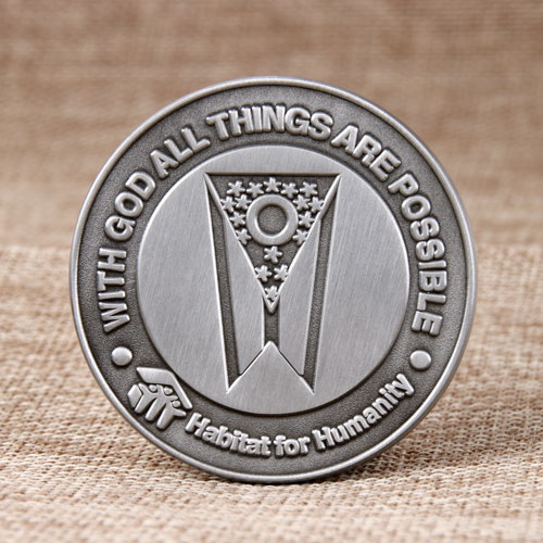 Habitat for Humanity Die Struck Coins