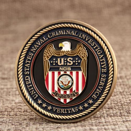 Veterans Navy Coins