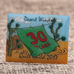 Quilt Guild Custom Pins
