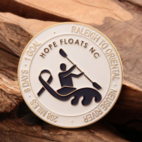 Hope Floats NC Personalized Coins