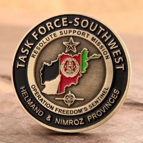 Task Force Southwest Marine Corps Coins