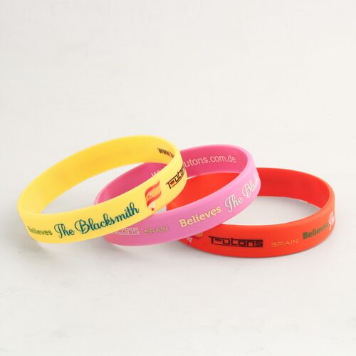 Teutons Printed Wristbands