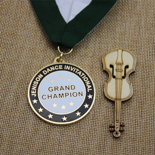 Dance Invitational Custom Medals