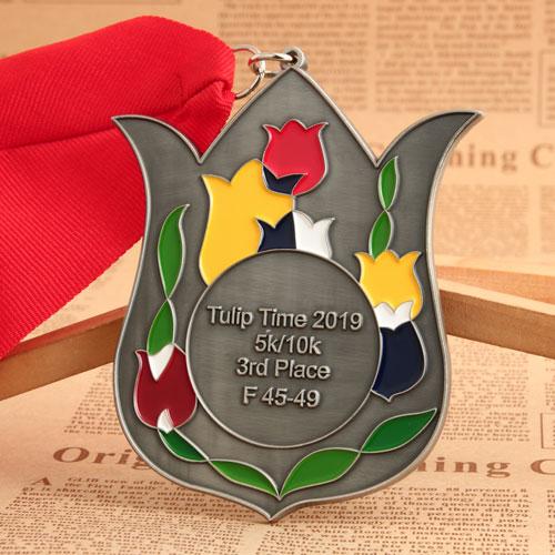 Tulip Time Custom Medals