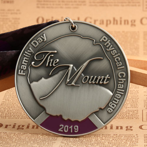 2019 The Mount Custom Medals