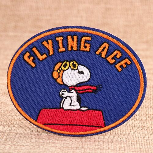 Snoopy Custom Woven Patches