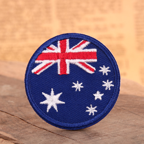 Australian Flag Custom Patches