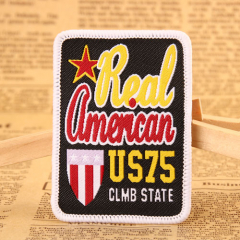 Real American Woven Patches