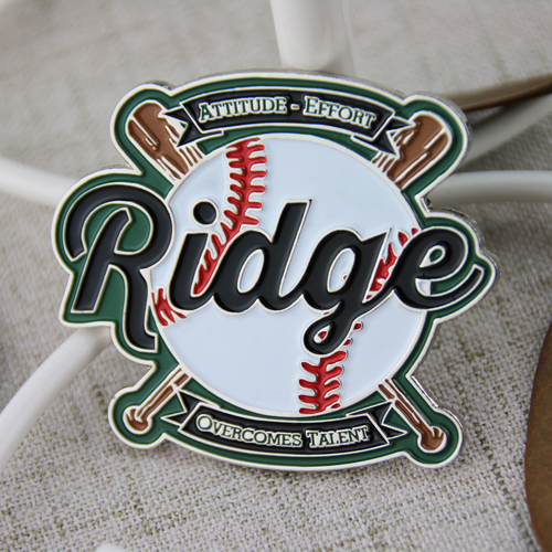 Ridge Baseball Pins
