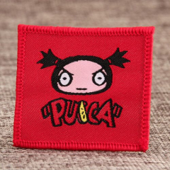 Pucca Woven Patches No Minimum