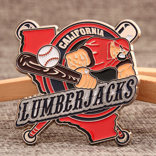 Custom Lumberjacks Pins