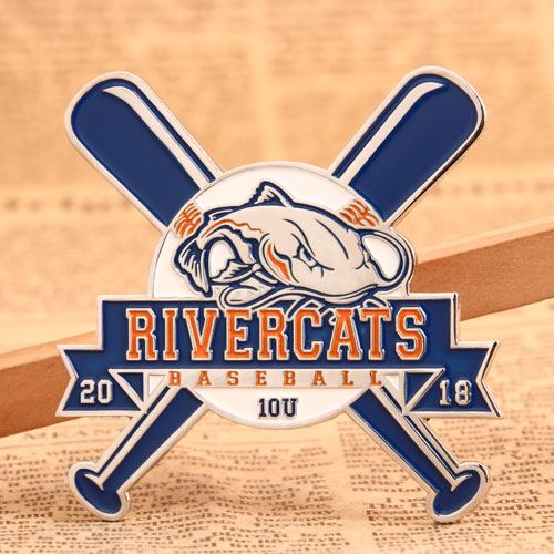 Custom River Cats Pins
