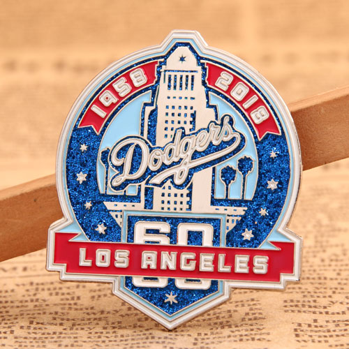 Custom Dodgers Trading Pins