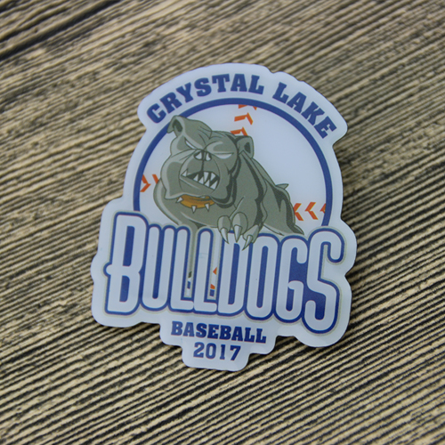 Custom Bulldogs Pins