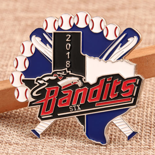 Custom Bandits Trading Pins