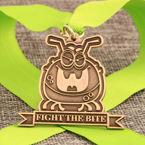 Fight The Bite Custom Medals