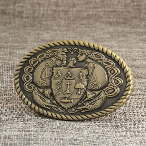 Custom Antique Belt Buckles