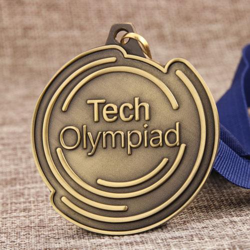 Tech Olympiad Custom Medals