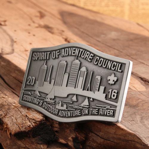Spirit of Adventure Belt Buckles