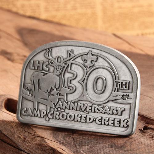 Anniversary Custom Belt Buckles