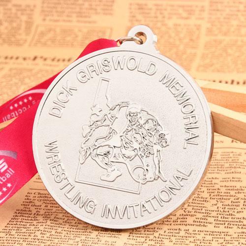 Wrestling Race Custom Medals