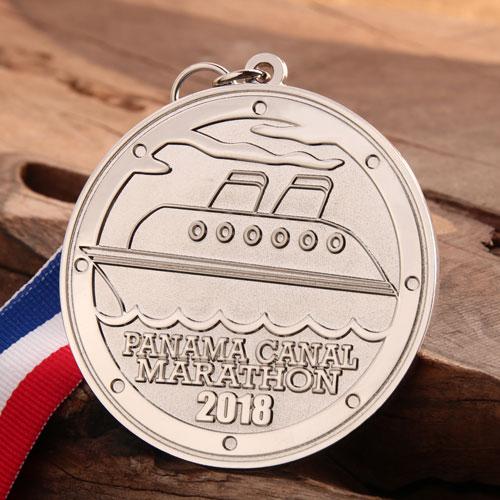 Panama Canal Marathon Cheap Medals