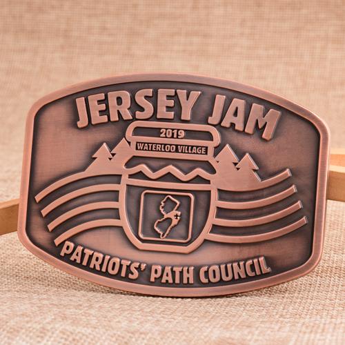 Jersey Jam Custom Belt Buckles