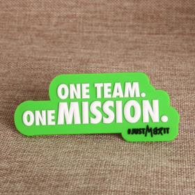 One Team One Mission PVC Magnet
