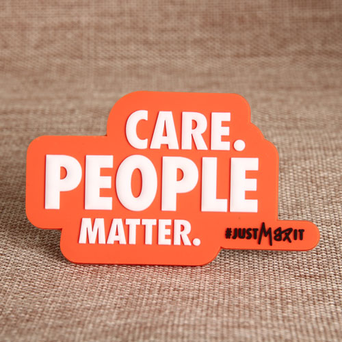 Care People Matter PVC Magnet