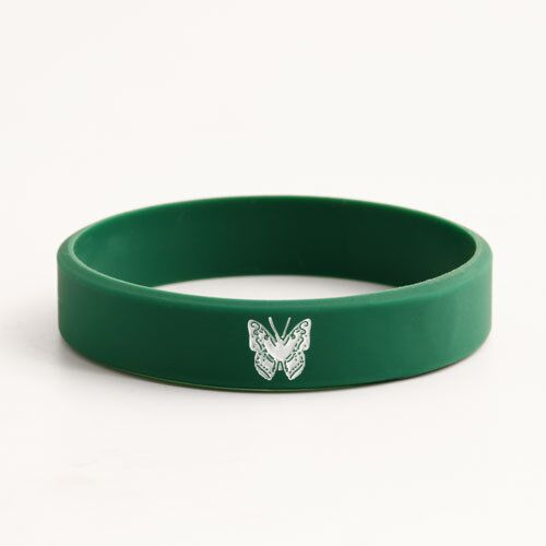 Butterfly Pattern Custom Wristbands