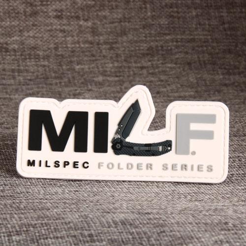 MILF 3D PVC Patches