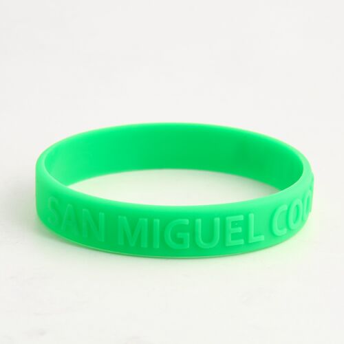 San Miguel Silicone Wristbands