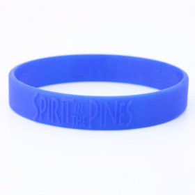 Spirit In the Pines Silicone Wristbands