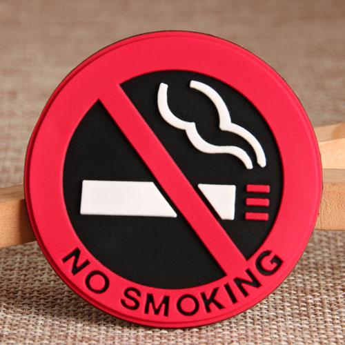 No Smoking 2D PVC Patches
