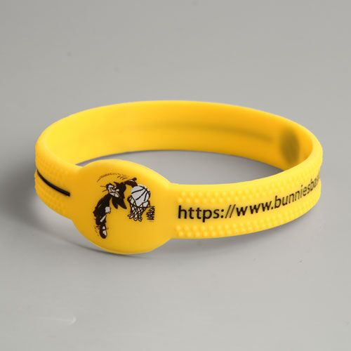 Bunnies Funny Silicone Wristbands