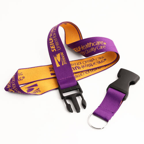 Cheap SEIU Healthcare Woven Lanyards