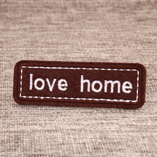 Love Home Custom Made Patches