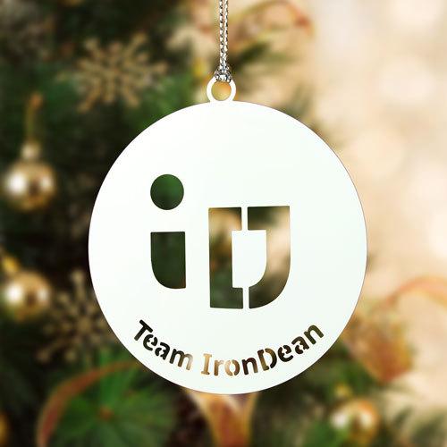 IronDean Cheap Custom Ornaments
