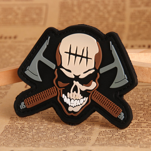 Skull PVC Patches