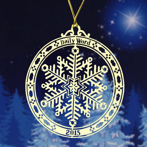 Snowflake Custom Ornaments