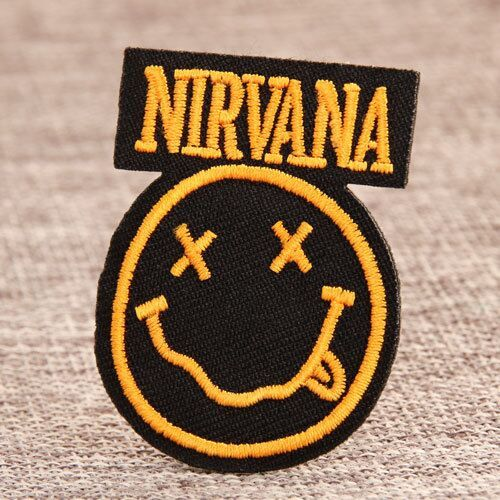 Nirvana Band Custom Patches