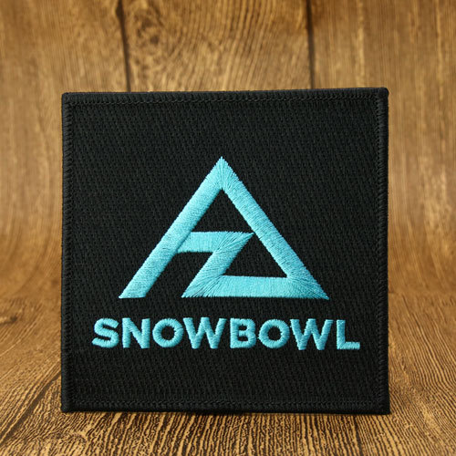 Snowbowl  Best Embroidered Patches