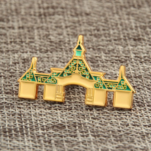 Castle Enamel Pins