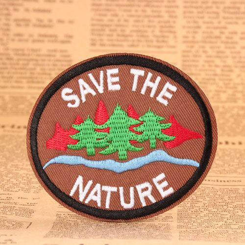 Save The Nature Cheap Patches