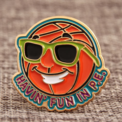 Basketball Funny Pins